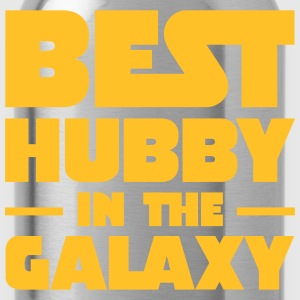 Best Hubby In The Galaxy T-Shirts - Water Bottle