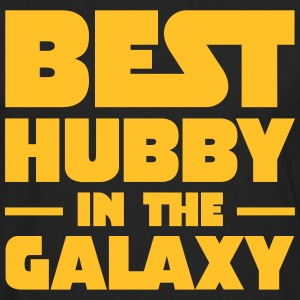 Best Hubby In The Galaxy T-shirts - Herre premium T-shirt med lange ærmer