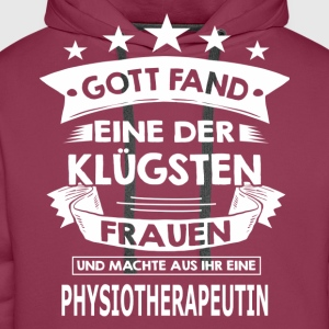 physiotherapeutin T-Shirts - Männer Premium Hoodie