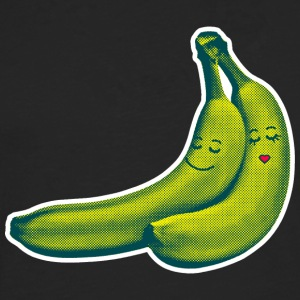 Black BANANA LOVE T-Shirts - Men's Premium Longsleeve Shirt