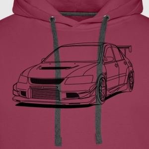 Lancer outlines T-Shirts - Men's Premium Hoodie