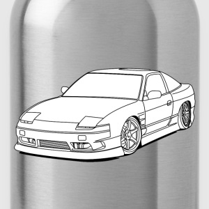240sx white T-Shirts - Water Bottle
