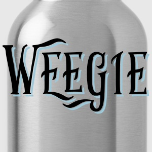 Weegie, Glasgow Slang T-Shirts - Water Bottle