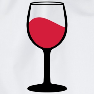 Wine glass T-shirts - Gymnastikpåse