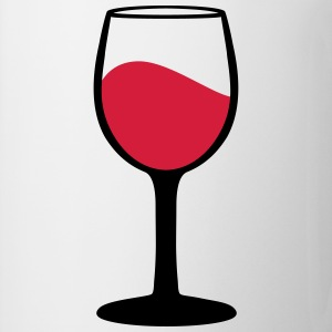 Wine glass T-shirts - Mugg