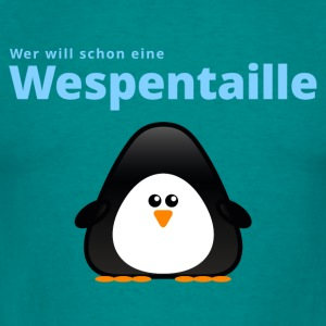 Wespentaille - Männer T-Shirt