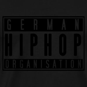 German Hiphop Organisation - Männer Premium T-Shirt
