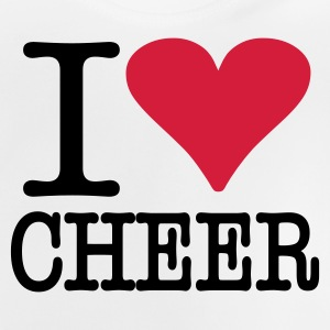 I love Cheer - Baby T-Shirt