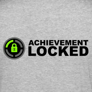 Achievement Locked Gamer Hoodies & Sweatshirts - Men's Slim Fit T-Shirt