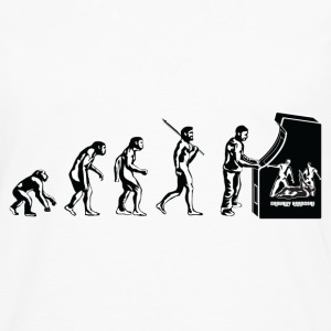 Gamer Evolution T-Shirts - Men's Premium Longsleeve Shirt
