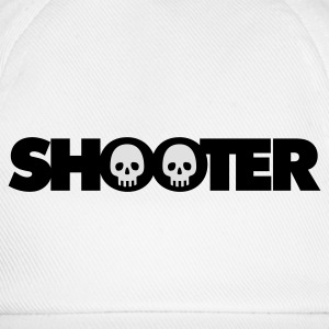 Weiß Shooter © T-Shirts - Cappello con visiera