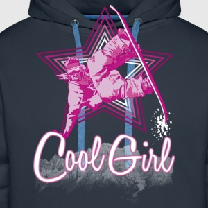 Cool girl - Sweat-shirt à capuche Premium pour hommes
