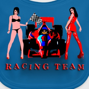 racing_car_a Shirts - Bio-slabbetje voor baby's