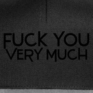 Nero fuck you very much deluxe Intimo - Snapback Cap