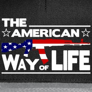 Schwarz THE AMERICAN WAY OF LIFE T-Shirts - Snapback Cap