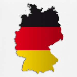Map of Germany 2 - Men's Premium T-Shirt