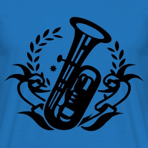 Rouge Tuba Instrument pour brass band Sweatshirts - T-shirt Homme