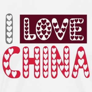 I LOVE CHINA t-shirt - T-shirt Premium Homme