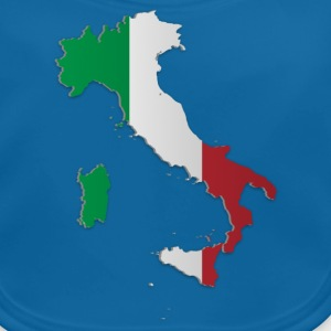 Map of Italy 3 - Baby Organic Bib
