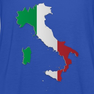 Map of Italy 3 - Women's Tank Top by Bella