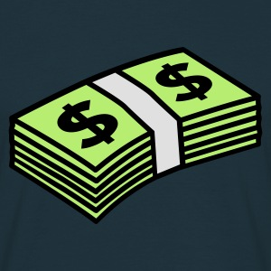 Navy Money dollars 3 colors Hoodies & Sweatshirts - Men's T-Shirt