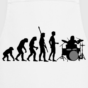 evolution_drummer_b_2c T-Shirts - Cooking Apron