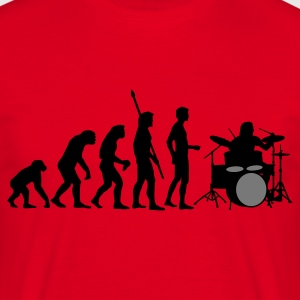 Red evolution_drummer_b_2c Hoodies & Sweatshirts - Men's T-Shirt