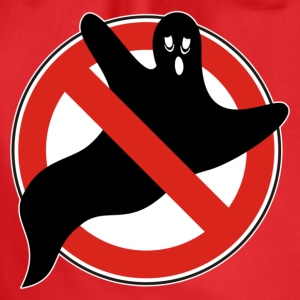 NO GHOSTS | Frauenshirt organic - Turnbeutel