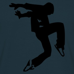 Navy break dance luxe Sweaters - Mannen T-shirt