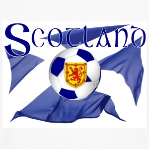 scotland saltire lion national football flag T-Shirts - Men's Premium Longsleeve Shirt