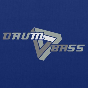 Navy Drum 'n' Bass logo Caps & Hats - Tote Bag