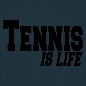 Navy tennis is ife Hoodies & Sweatshirts - Men's T-Shirt