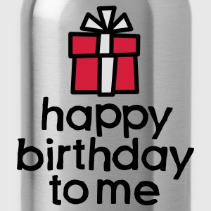 Red Happy birthday to me Kids' Shirts - Water Bottle