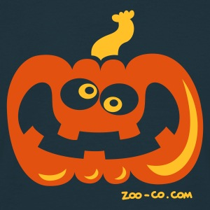 Navy Even Crazier Pumpkin Hoodies & Sweatshirts - Men's T-Shirt
