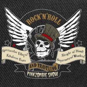 rock'n'roll tete de mort Sweat-shirts - Casquette snapback