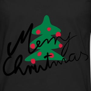 Black Christmas tree Hoodies & Sweatshirts - Men's Premium Longsleeve Shirt