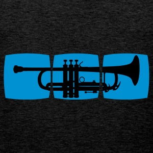 Trumpet Musician T-shirt for trumpeter / jazz trumpet & other varieties Hoodies & Sweatshirts - Men's Premium Tank Top