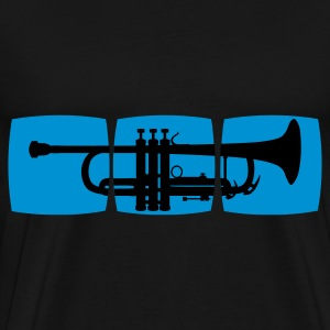 Trumpet Musician T-shirt for trumpeter / jazz trumpet & other varieties Hoodies & Sweatshirts - Men's Premium T-Shirt