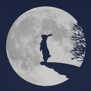 Wolfinchen rabbit bunny bunnies hare jackass moon werewolf fullmoon ledge Hoodies & Sweatshirts - Baseball Cap