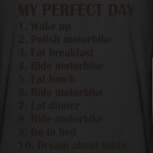 My perfect day Pullover & Hoodies - Männer Premium Langarmshirt