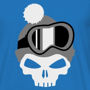 Army Snowboard Skull with snowboard goggles Hoodies & Sweatshirts - Men's T-Shirt