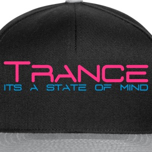 Sort Trance State of Mind T-shirts - Snapback Cap