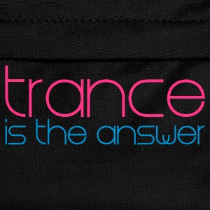 Negro Trance is the Answer Camisetas - Mochila infantil