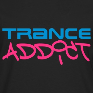 Black Trance Addict Women's T-Shirts - Men's Premium Longsleeve Shirt