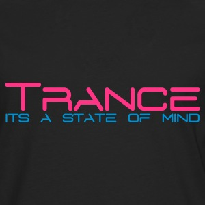 Black Trance State of Mind Women's T-Shirts - Men's Premium Longsleeve Shirt