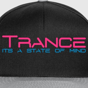 Black Trance State of Mind Women's T-Shirts - Snapback Cap