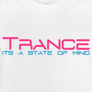 Wit Trance State of Mind Kinder shirts - Baby T-shirt