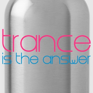 Zwart Trance is the Answer Kinder shirts - Drinkfles
