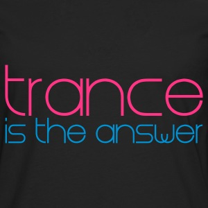 Nero Trance is the Answer T-shirt bambini - Maglietta Premium a manica lunga da uomo