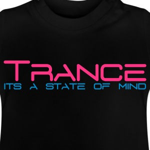 Schwarz Trance State of Mind Kinder T-Shirts - Baby T-Shirt